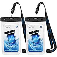 """Mpow防水ケースユニバーサルフローティングドライバッグポーチアウトドア活動用のデバイスを最大6.0"""""""