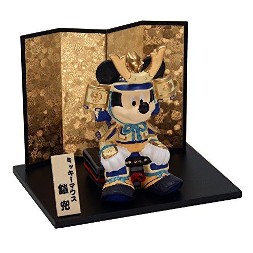 ミッキー武者 陶器 五月人形 兜飾り 兜 ミニ ポストカード...