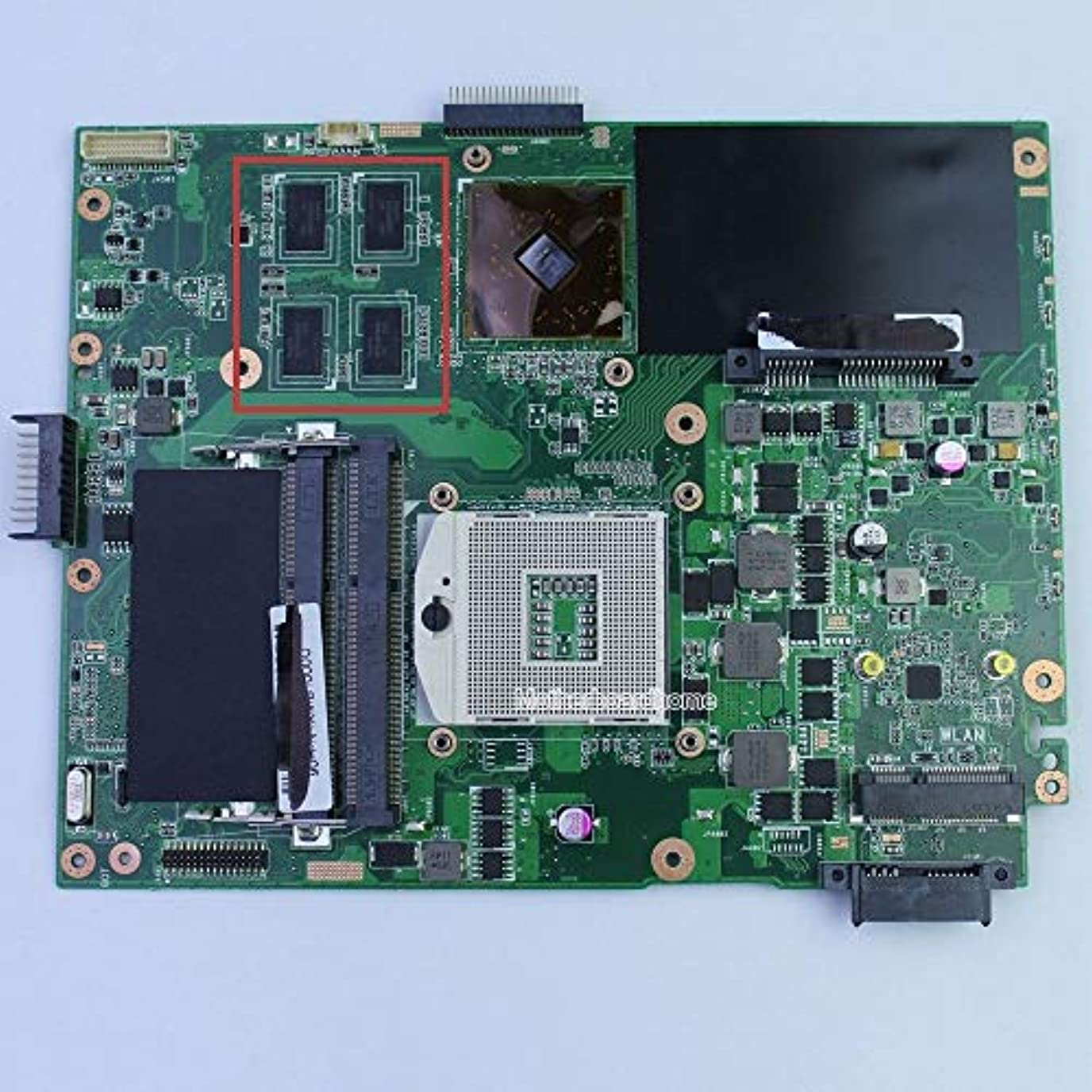 迅速スーツ位置づけるFidgetFidget Asus K52JU ノートパソコン用マザーボード 512MB 4メモリ K52JR 100%テスト済み