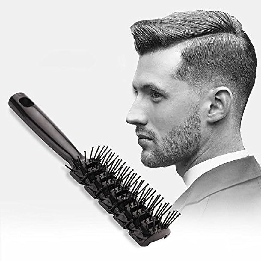 ヒューム商人創始者ヘアーブラシウェットブラシ髪スタイリングブラシまたはくしブラシでないより多くの昆布専門サロンのすべての種類の髪の男性と女性のためのスタイルのためにブラシをほぐす