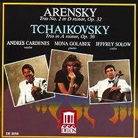 Arensky & Tchaikovsky: Piano Trios by et al Jeffrey Solow (Performer) (2002-05-03)