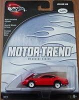 Hot Wheels Motor Trend Magazine Series Jaguar XKR 2/4 Red [並行輸入品]