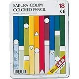 サクラクレパス クーピー色鉛筆 18色 PFY18