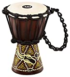 MEINL Percussion マイネル ミニジャンベ African Style Mini Djembe HDJ6-XXS Dark Serpent Design 【国内正規品】