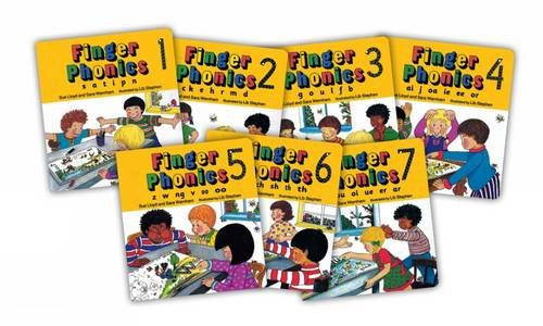 Finger Phonics (7 Books in Ser...