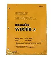 Komatsu wd900–3Wheel Dozerワークショップ修理サービスマニュアル–部品番号# sebd036900