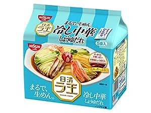 日清 ラ王 冷し中華 しょうゆだれ 5食パック 630g×6個
