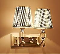 ウォールランプモダンシンプルなLedベッドサイドランプベッドルームクリエイティブヨーロッパスタイルのアメリカンスタイルのリビングルーム階段 ベッドサイドランプ (色 : #1)