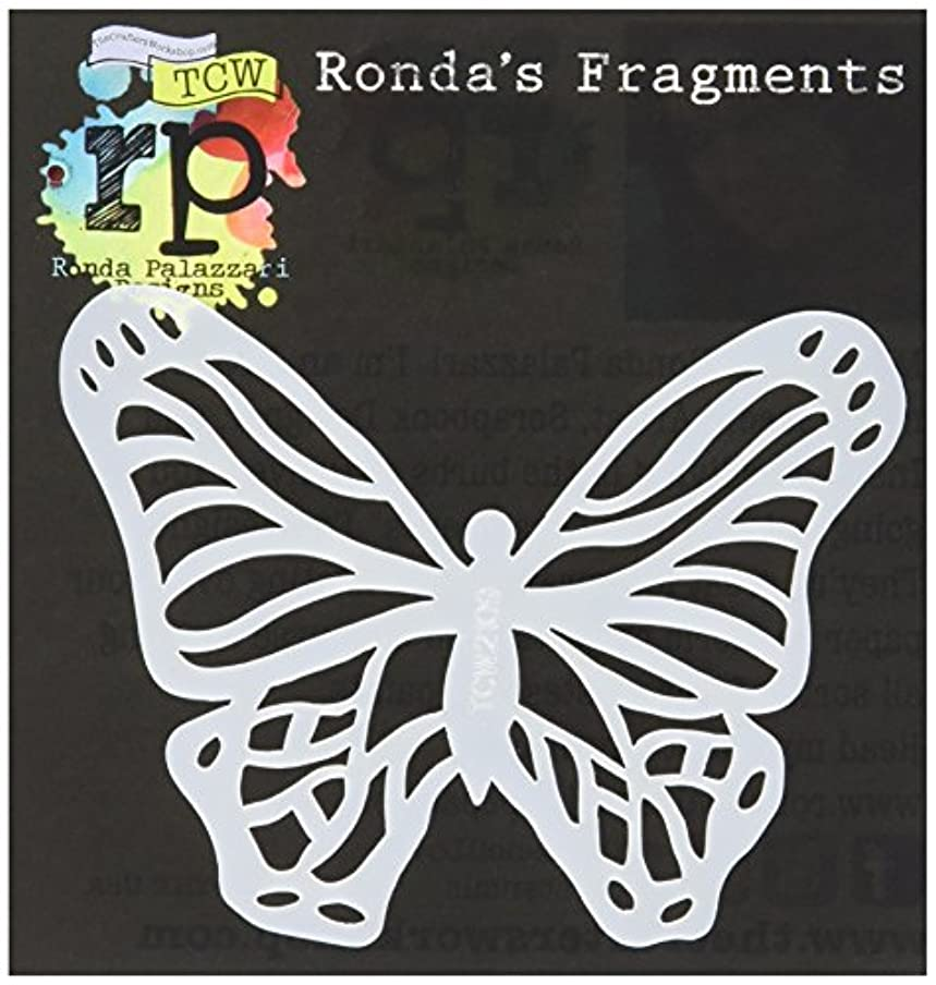既にアレルギー性ゆるいCrafters Workshop TCW2109 Fragments Templates, 4 x 4, Monarch, Multicolor by CRAFTERS WORKSHOP