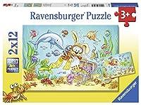 Ravensburger Diving Adventure Jigsaw Puzzle (2x12 Piece)