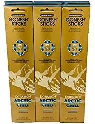 Gonesh – 12 ARCTIC CHILL PACK ( 240 Sticks ) Incense Sticks Extra Richコレクション