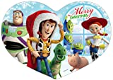 180ピース ジグソーパズル ディズニー ステンドアートハートフル パズル&パネルセット みんなとクリスマス!・セット