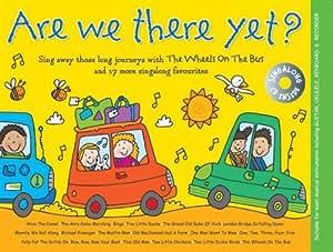 Music For Kids: Are We There Yet? / 子供のための音楽: アー・ウィ・ゼア・イェット?メロディライン・歌詞・コード 楽譜、CD
