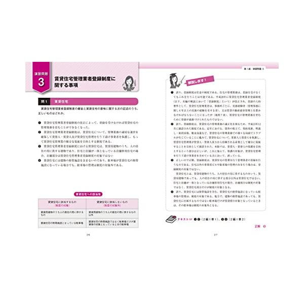 賃貸不動産経営管理士 試験対策問題集の紹介画像4