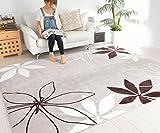 なかね家具 洗えるラグ ホットカーペット対応 リーフデザイン 軽量 長方形 洗える ラグマット 200x250 ベージュ 598pakia