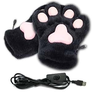 サンコー USBあったかネコ肉球手袋 USGLOVNK