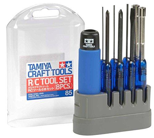 タミヤ クラフトツールシリーズ No.85 RCツール 8本セット RC用工具 74085