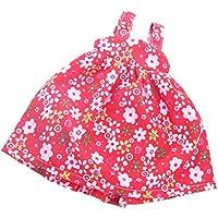 Lovoski カラフル ドレス ワンピース 14インチドール人形のため 全7色 高品質 - カラー#4