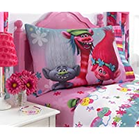 [ドリームワークス]Dreamworks Troll's 3 piece Twin Sheet Set 073558721024 [並行輸入品]