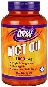 [海外直送品]NOW Foods MCT(中鎖トリグリセリド)オイル 1000mg 150粒