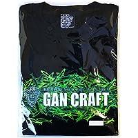 GAN CRAFT(ガンクラフト) ジョイカモTシャツ ブラック/カモグリーン WS.