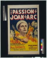 Photo : The Passion of Joan of Arc、Renee Maria Falconetti、モーション画像ポスター、1929。サイズ: 8 x 10