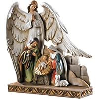 CB Gift TC616 Nativity Angel Figurine, 8 by CB Gift