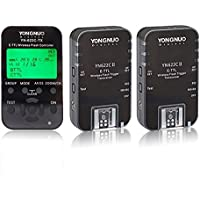 Yongnuo 3点セット YN622C-II+ YN-622C-TX E-TTL HSS 1/8000秒 7チャンネル ラジオスレーブ レシーバ ワイヤレスレリーズ ストロボフラッシュ 送受信機 Canon 6D 7D 40D 50D 60D 450D 500D 550D 600D 650D 1000D 1100D 対応 ワイヤレス フラッシュトリガー