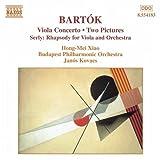 バルトーク:ヴィオラ協奏曲/2つの映像 Sz. 46/他/T. シェルリー:ヴィオラと管弦楽のための狂詩曲