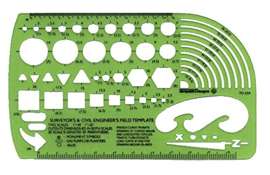 クロニクル処方する何でもアルビンTD654調査&土木技師テンプレート