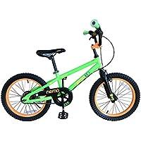 ROCKBROS(ロックブロス) 子供用 自転車 かわいい 18インチ男の子にも女の子にも! 安心のキャリパーブレーキ、バンドブレーキ仕様 ※18インチには補助輪は付属しません。 児童用 お子様のこだわりにもぴったりフィットするカラー4色サイズ4種 合計16バリエーション18インチグリーン NEMO18-B グリーン 18インチ