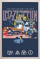 "LED ZEPPELINポスター–Remains 24"" x 36"" ホワイト 29295-PSA034066"