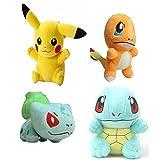 Yunzhicheng Pokemon Go Stuffed Plush Toyセット