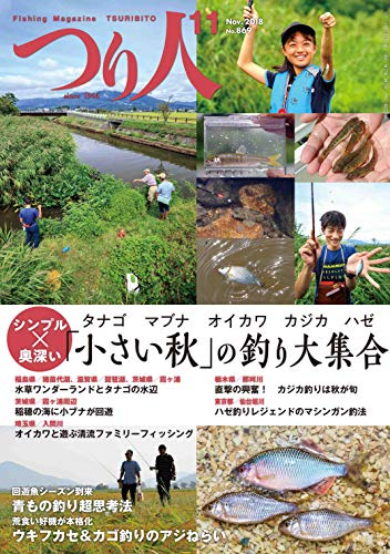 つり人 2018年11月号 (2018-09-25) [雑誌]
