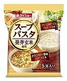 ダイショー 発芽玄米使用 スープパスタクリームポタージュ&きのこバター醤油 62.5g×10個
