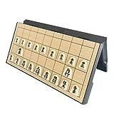 将棋セット マグネット式 日本語説明書付き 入門初心者に適用 折りたたみでコンパクト収納 Bajoy 将棋盤と駒の将棋セット