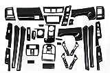 【G-Parts】トヨタ プリウスα 40 インテリアパネル ピアノブラック 32pセット 内装パネル 3D立体パネル  ZV40 P40BK