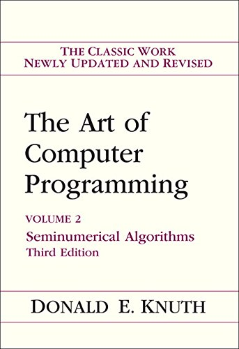 Art of Computer Programming, Volume 2: Seminumerical Algorithms (ART OF COMPUTER PROGRAMMING VOLUME 2)の詳細を見る