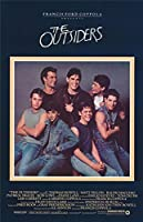 The Outsiders Movie POSTER 27 x 40 Patrick Swayze, Tom Cruise, B, MADE IN THE U.S.A.