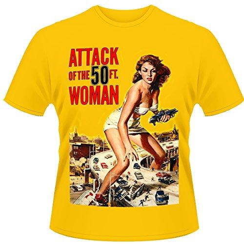 Plan 9 Attack of the 50ft Women Poster 公式メンズTシャツ全サイズ