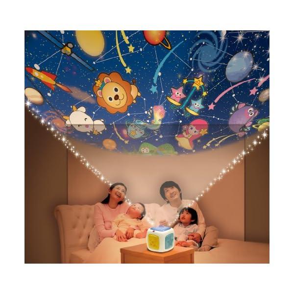 天井いっぱい!! おやすみホームシアターの紹介画像4