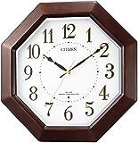 CITIZEN ネムリーナエイト 電波掛け時計 8MYA17-006の画像