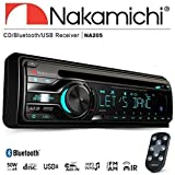 Nakamichi na205 Bluetooth単一DIN CD USB AUX車ラジオステレオ