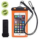 WALNEW  iPhone6/Samsung/Sony 全てのスマホ対応可能 救助用ネックストラップ付属 防水ケース