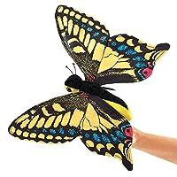 Folkmanis Swallowtail Butterfly Hand Puppet [並行輸入品]