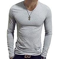 [アスペルシオ] 長袖 無地 インナー シャツ 薄手 tシャツ メンズ