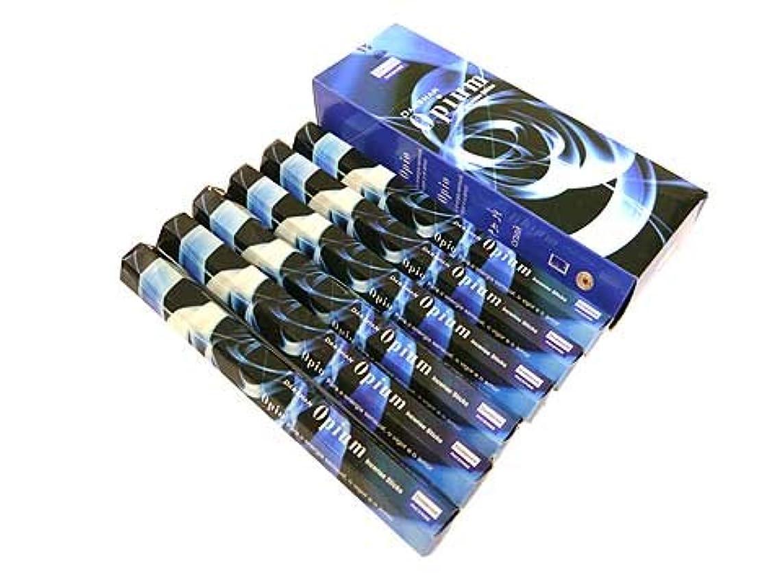 がっかりしたグロー腐食するDARSHAN(ダルシャン) オピウム香 スティック OPIUM 6箱セット