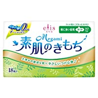 エリス Megami 素肌のきもち スリム 羽つき (特に多い昼用) 18枚