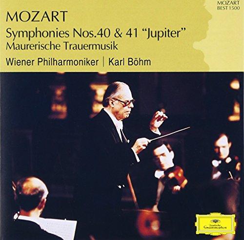 モーツァルト:交響曲第40番&第41番の詳細を見る