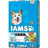 アイムス (IAMS) ドッグフード 成犬用 体重管理用 中粒 チキン 12kg